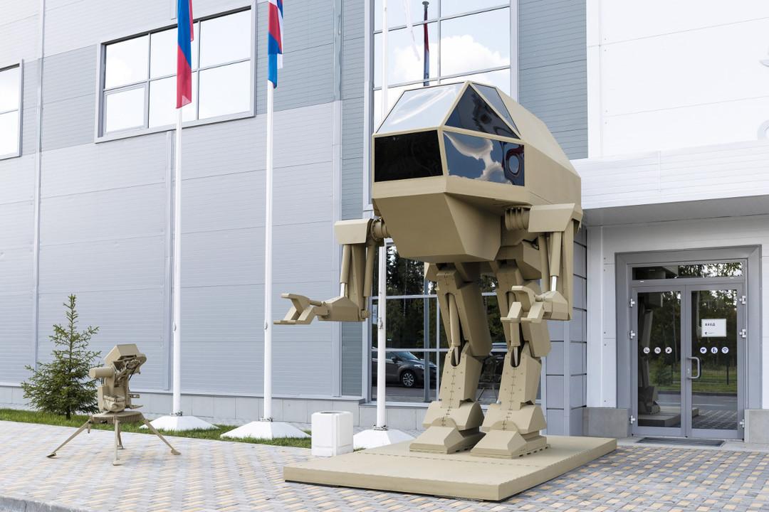 ロシア兵器メーカーが歩行戦車のコンセプトモデルを公開 。来年にむけて開発中