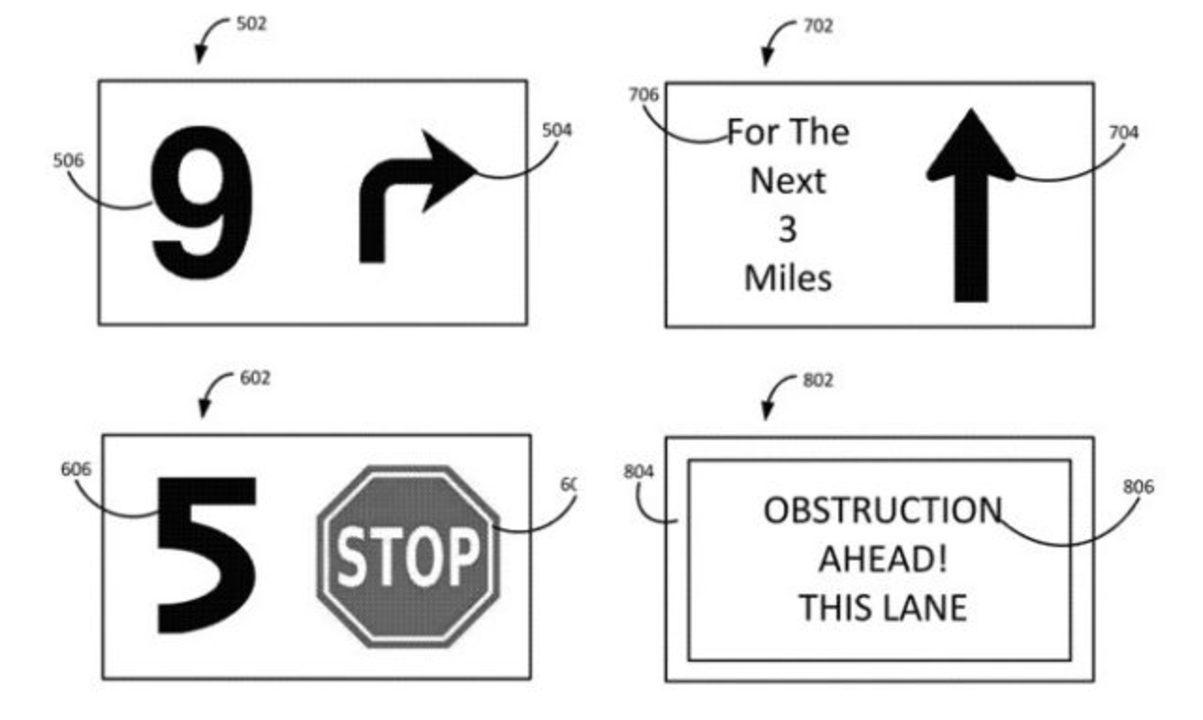 Appleが自動運転の右左折など、アクション前にカウントダウンを表示する特許を申請