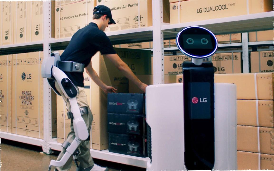 ウェアラブルなロボットをLGが発表。でもこれってパワードスーツでは……?
