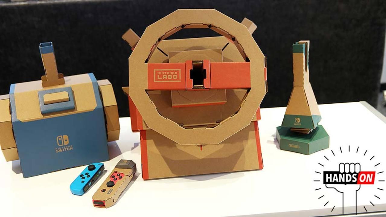 『Nintendo Labo ドライブキット』ハンズオン:大人もここまで楽しめるとは…!