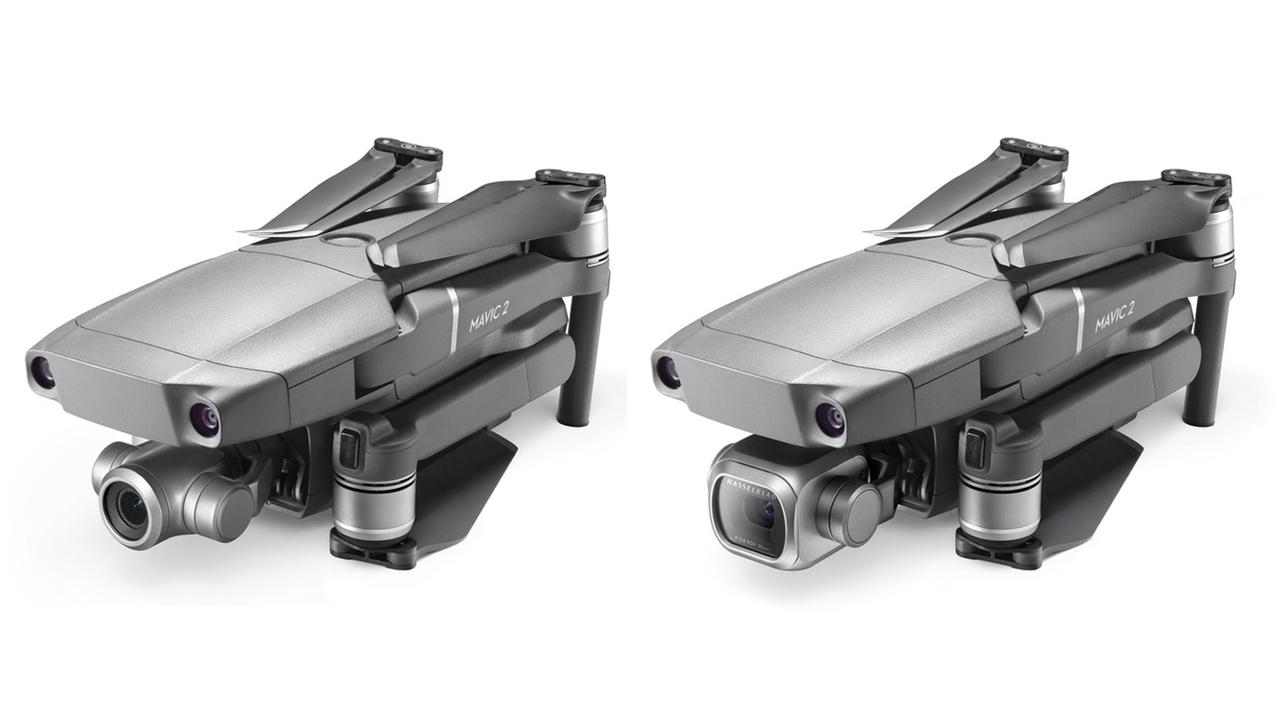 高画質orズーム、DJIの新型ドローン「Mavic 2 Pro」と「Mavic 2 Zoom」どっちを選ぶ?
