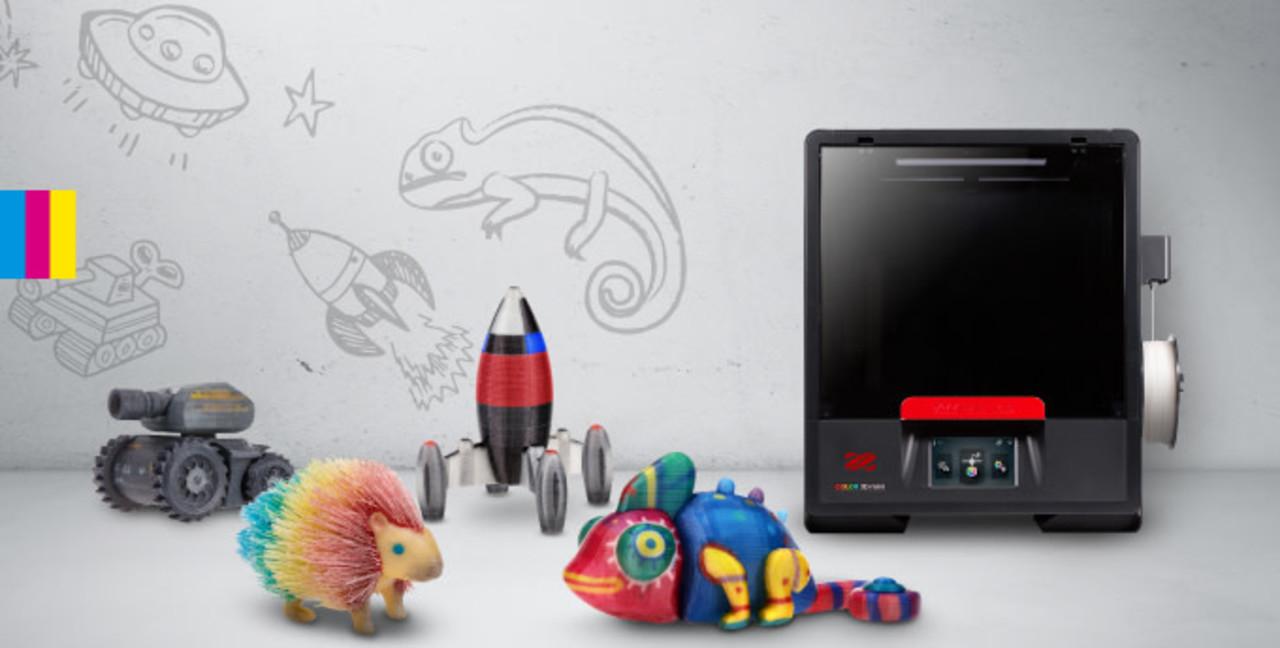 フルカラー3D印刷ができるプリンター「da Vinci Color mini」