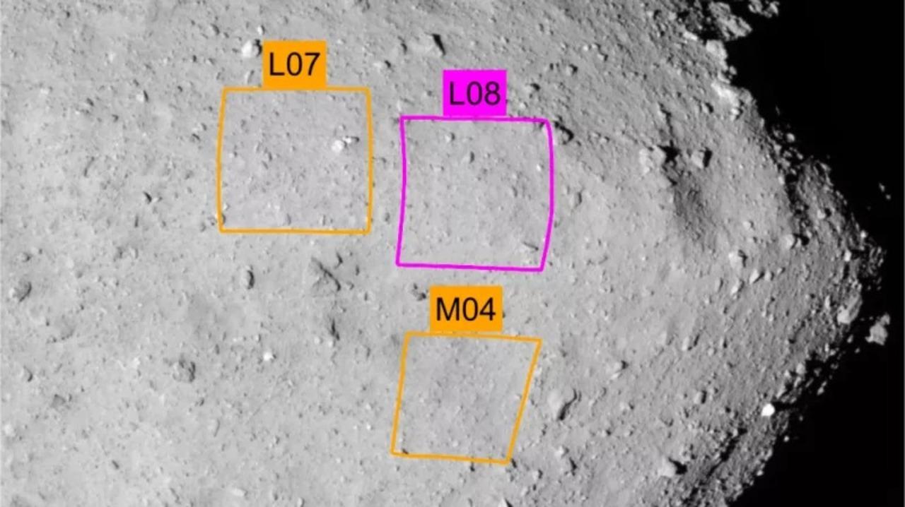 小惑星探査機「はやぶさ2」が小惑星「リュウグウ」に着陸する場所はここだ!