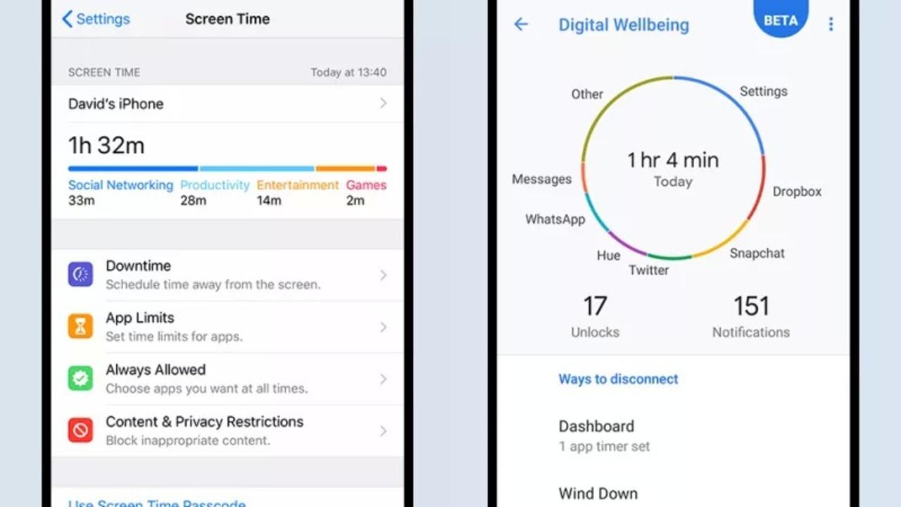 スマホ中毒気味の人におススメしたい、iOS 12とAndroid 9 Pieの新ツール