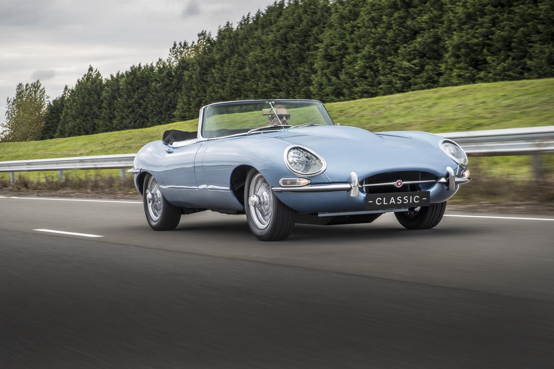 Jaguarの名車がEVになった「Eタイプ・ゼロ」、実際に市販されることに