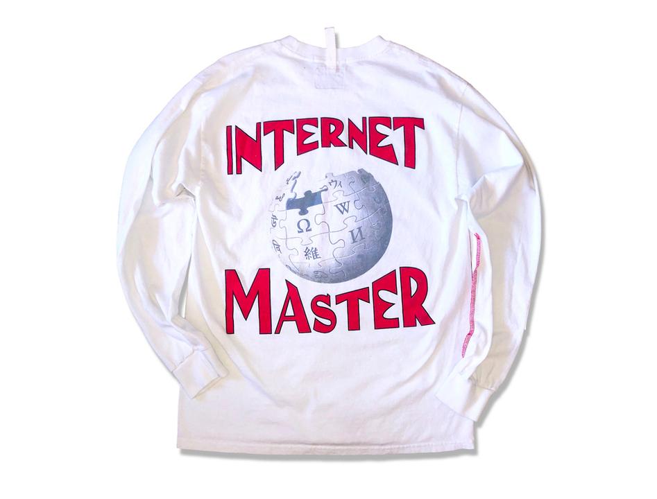 「WikipediaロンT」を着て、インターネット・マスターを目指さないか