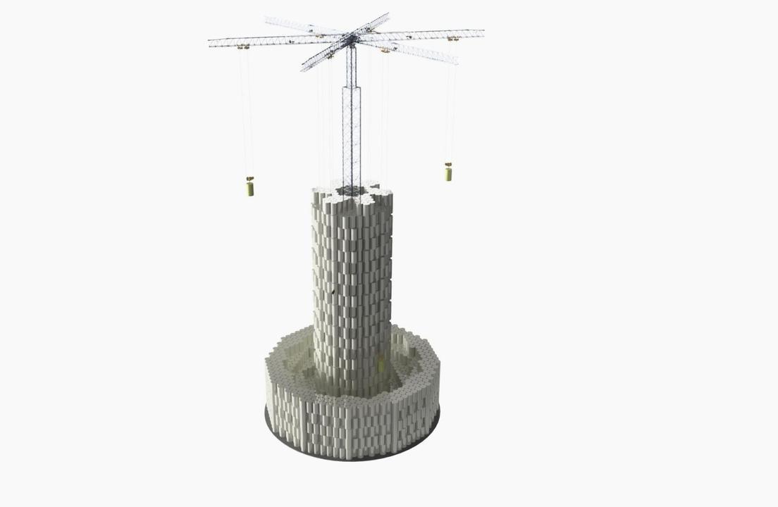 水力発電ならぬコンクリート力発電が誕生。瓦礫でも発電できます