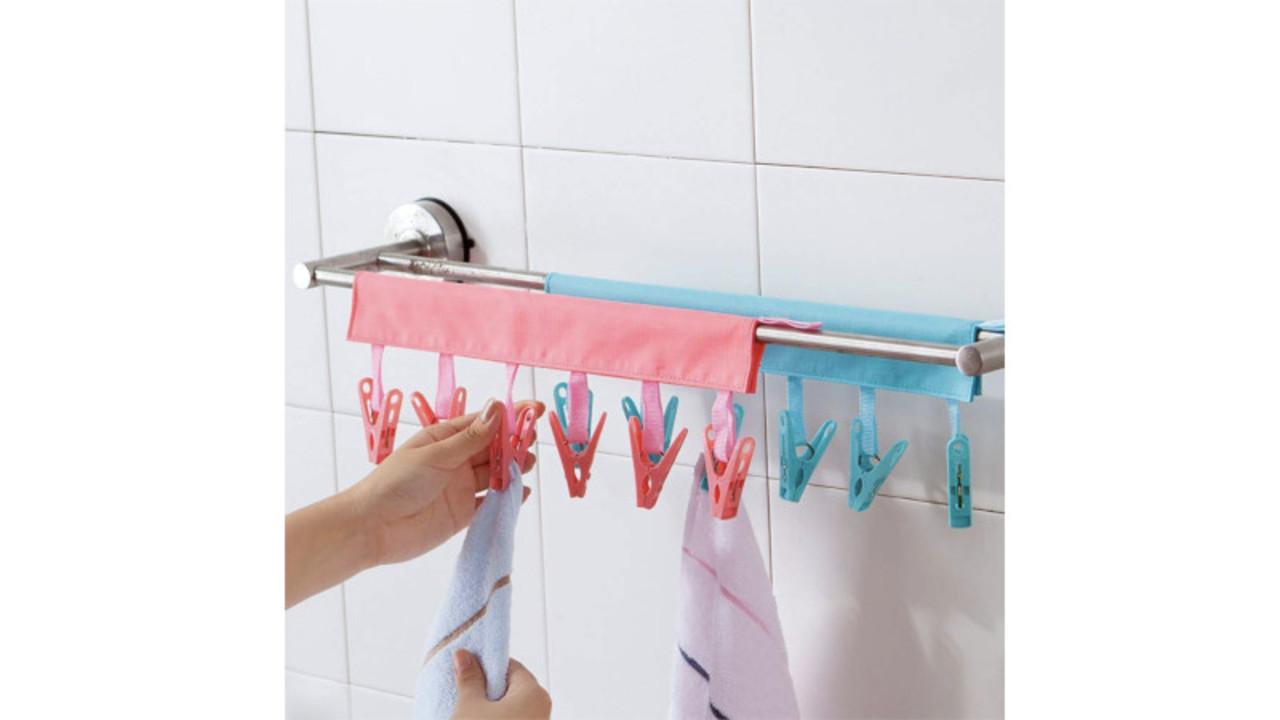 コンパクトに持ち運べるから、旅先での洗濯が気軽にできるよ〜