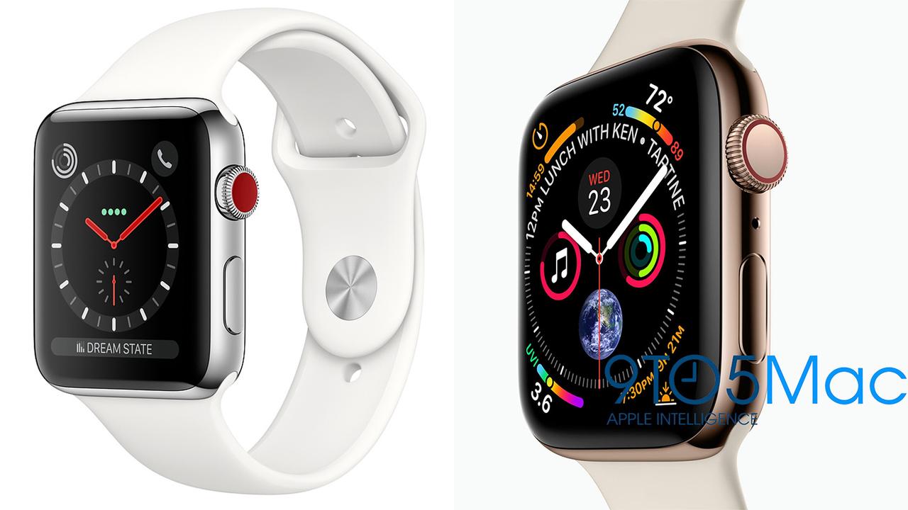 Apple Watchのリークを見るに、「Series 4」は今までのモノとは明らかに違うものになりそう