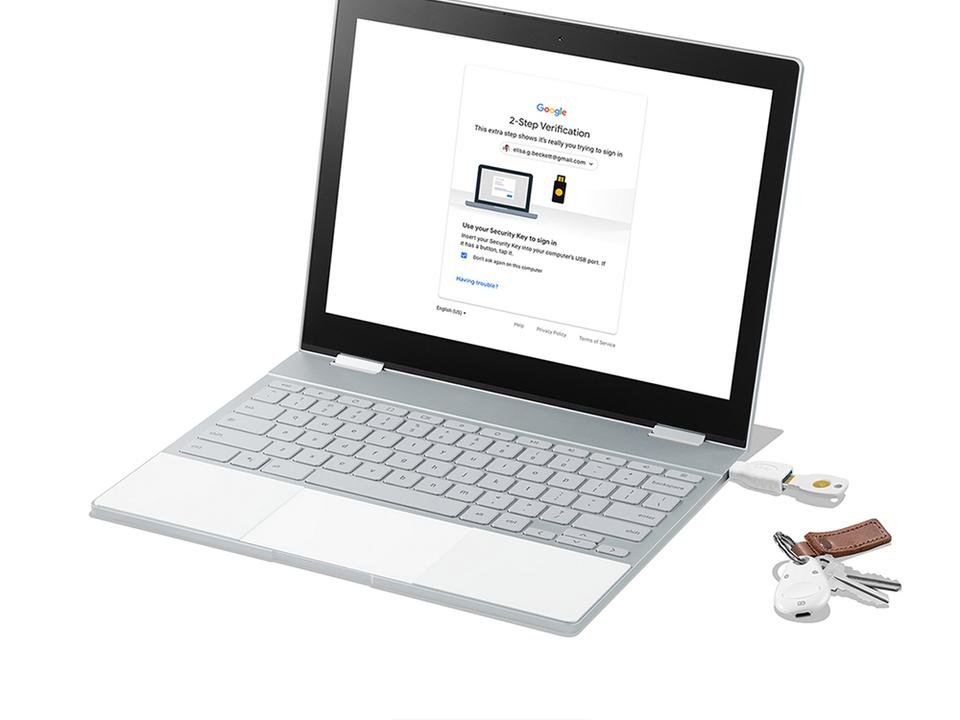 最先端セキュリティは物理鍵にあり! Google社内で使われているFIDO認証キー「Titan Security Key」が一般販売スタート