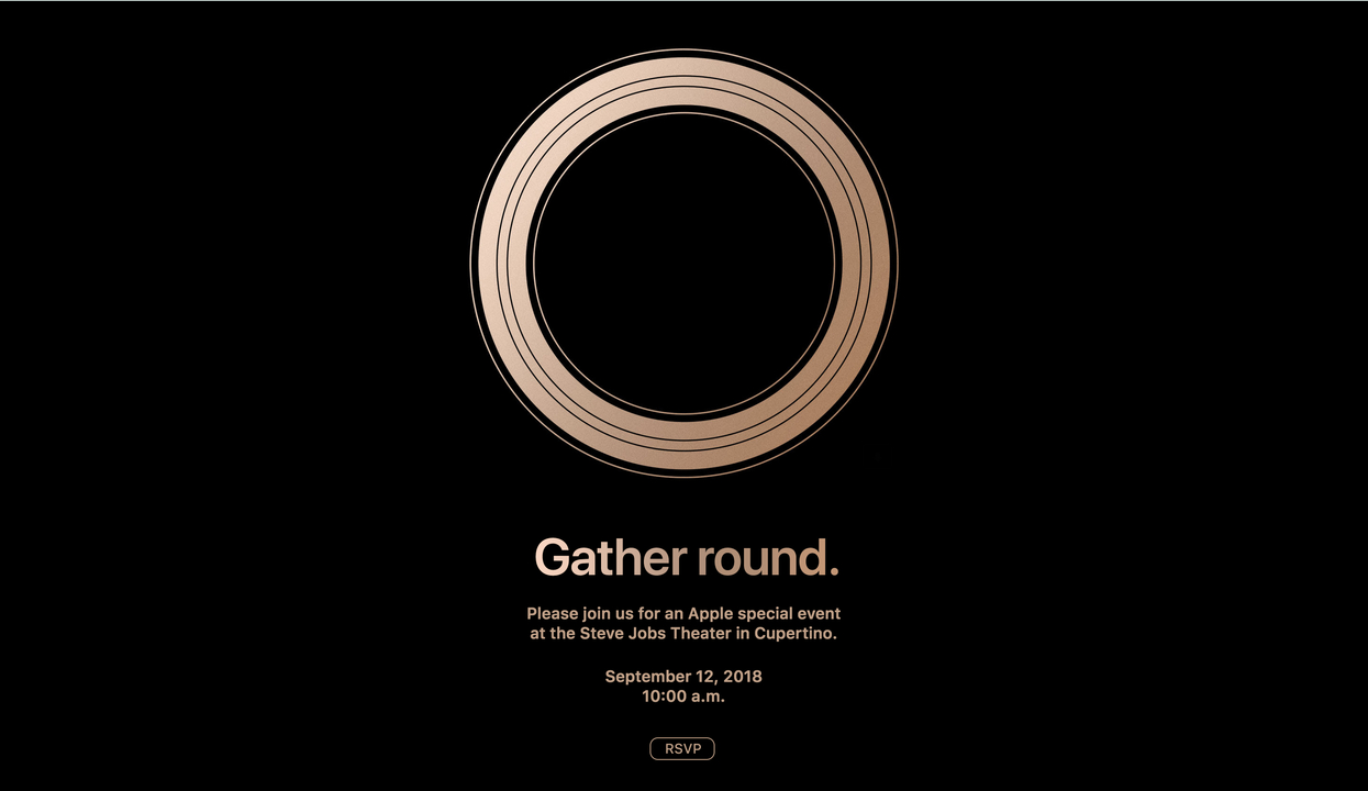 速報:Apple秋イベントは9月12日開催! 新型iPhoneくるか!