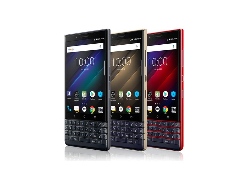 やっぱりでた! BlackBerryの廉価版スマホ「KEY2 LE」