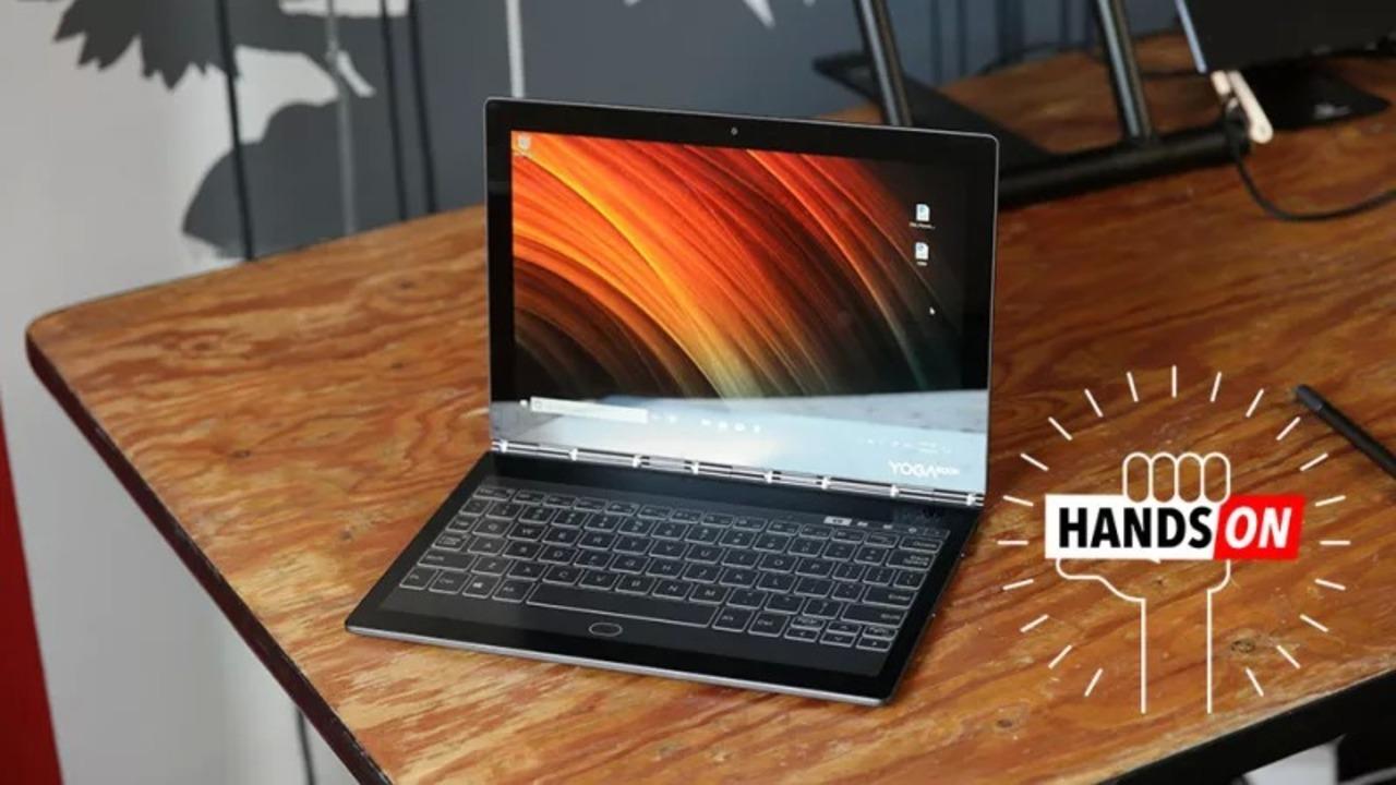 Lenovo Yoga Book C930 ハンズオン : セカンドE-Inkディスプレイがかなり洗練されている
