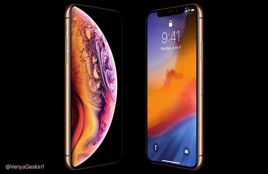 iPhone XS、待ちきれないよね! この前のリーク画像を使ったレンダリングを紹介するよ!
