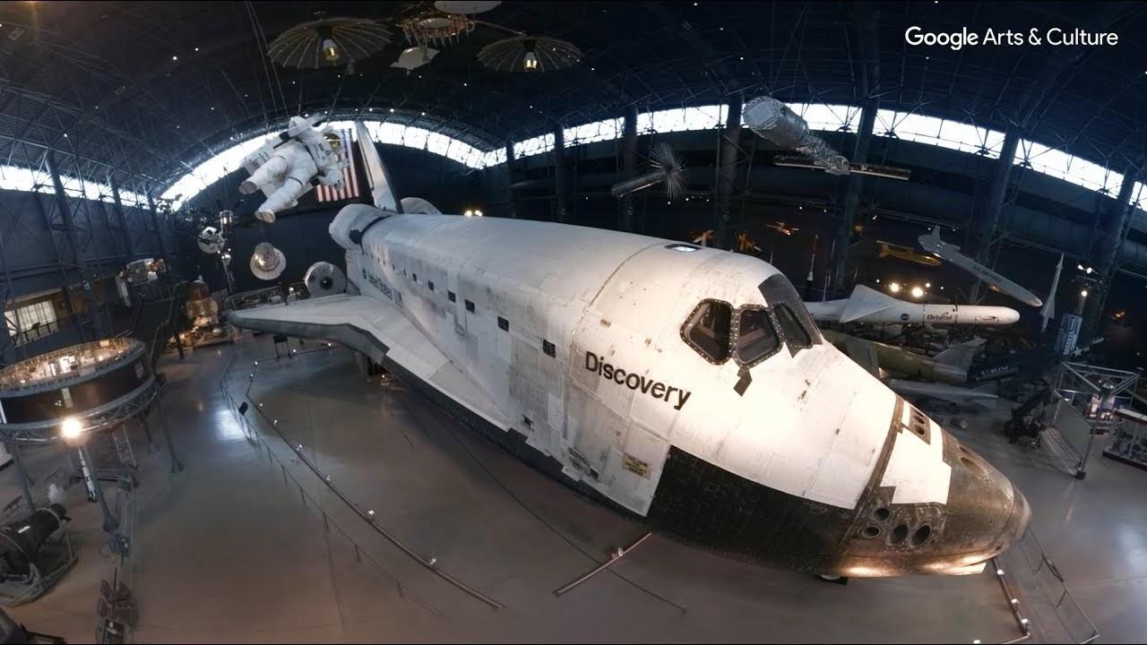 スペースシャトル・ディスカバリーの中を360度動画で探検してみよう