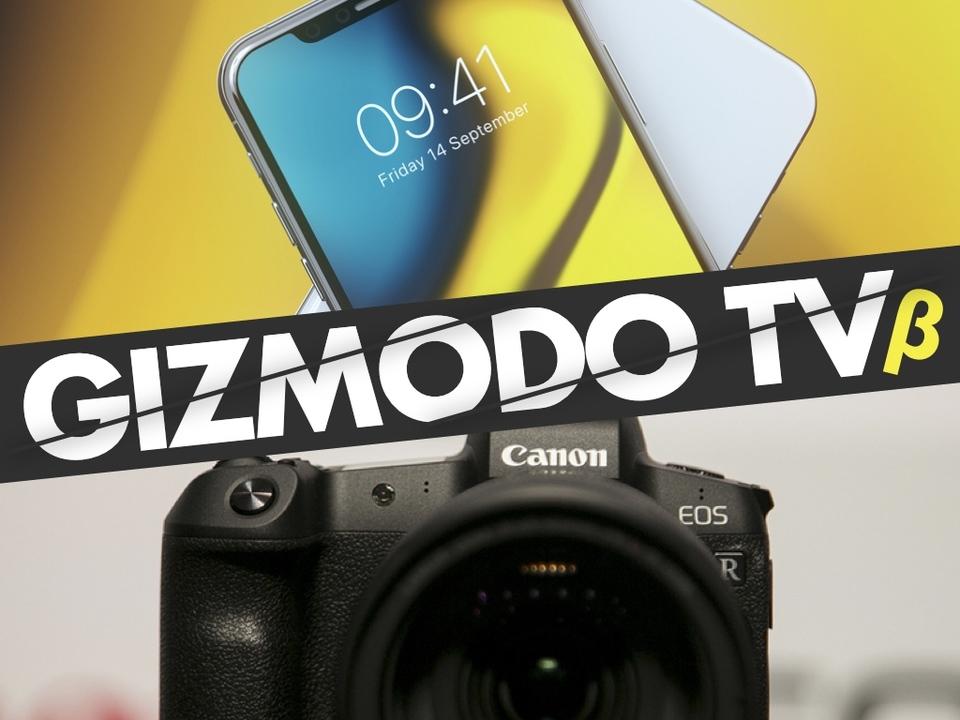今夜19時から「GIZMODO TV」生放送。キヤノンEOS RとApple発表会について語る!
