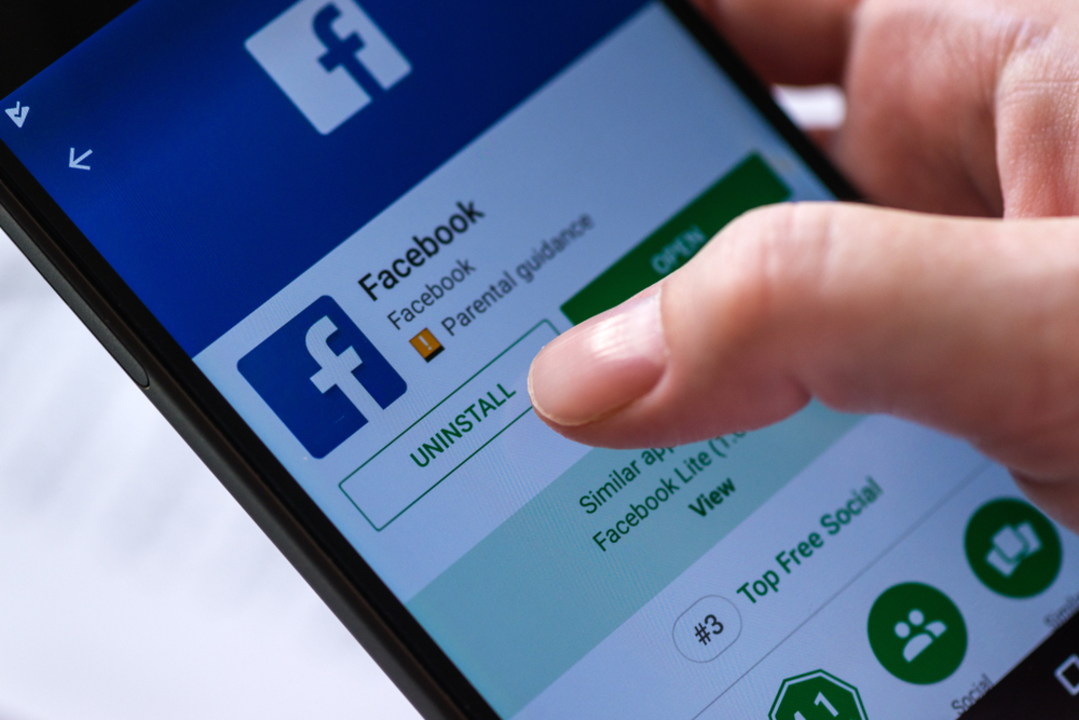 Facebook使ってる?アメリカ人の4人に1人はFacebookアプリをスマホから削除している