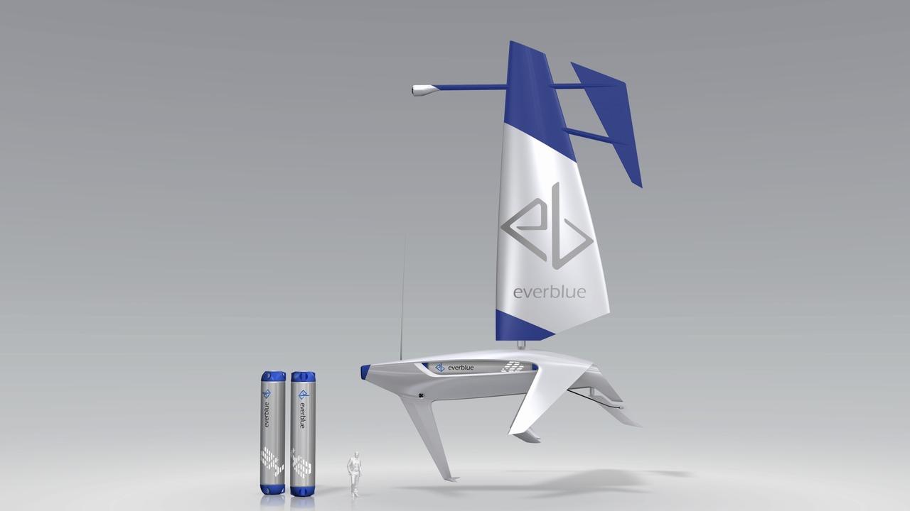 ストップ地球温暖化の切り札? 水素を運ぶ自動操船ヨットのコンセプト・デザイン