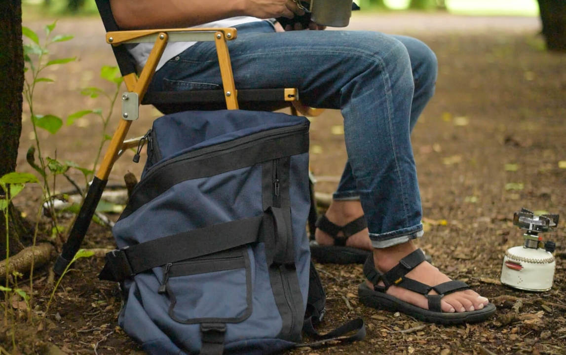 圧倒的収納力!サイズ調節ができる画期的な2Wayバッグ「ペリカンバッグ」|machi-ya weekly