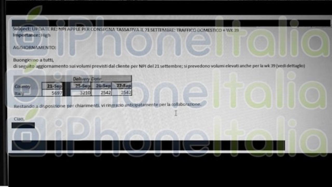 新型iPhoneやWatch、9月21日に出荷される公算大?