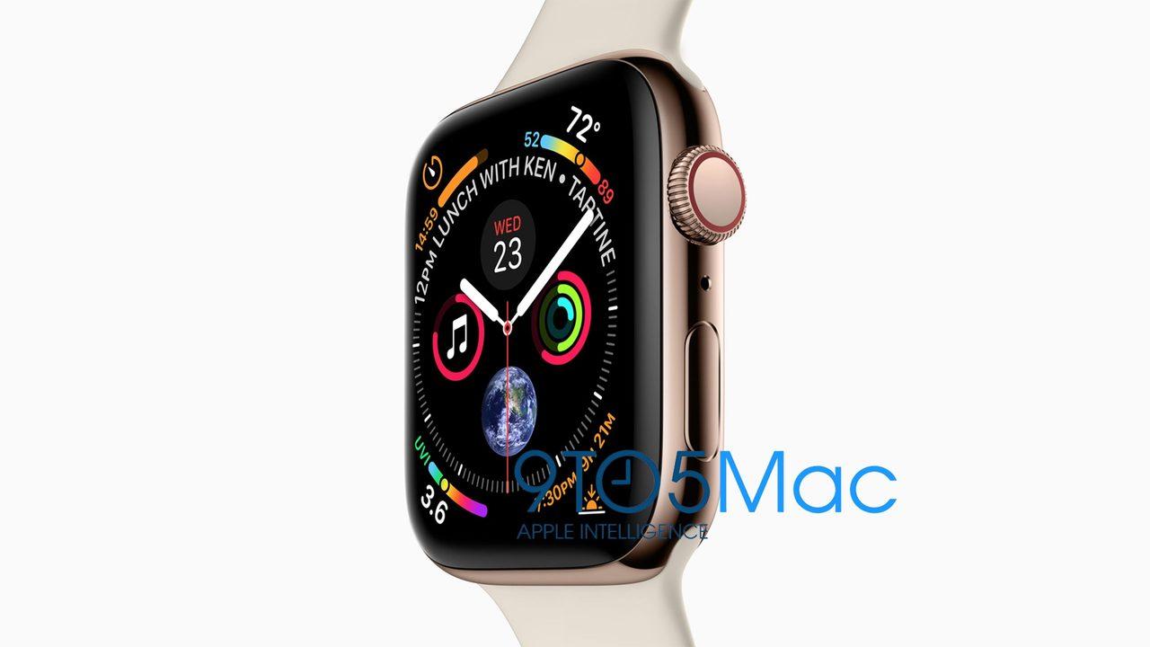 新型Apple Watchは、40mmと44mmにサイズアップするっぽい!