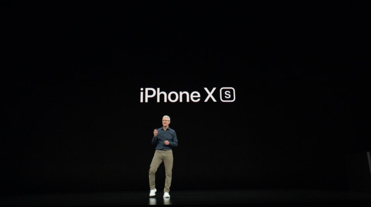 iPhone XSの「S」は大文字です! #AppleEvent
