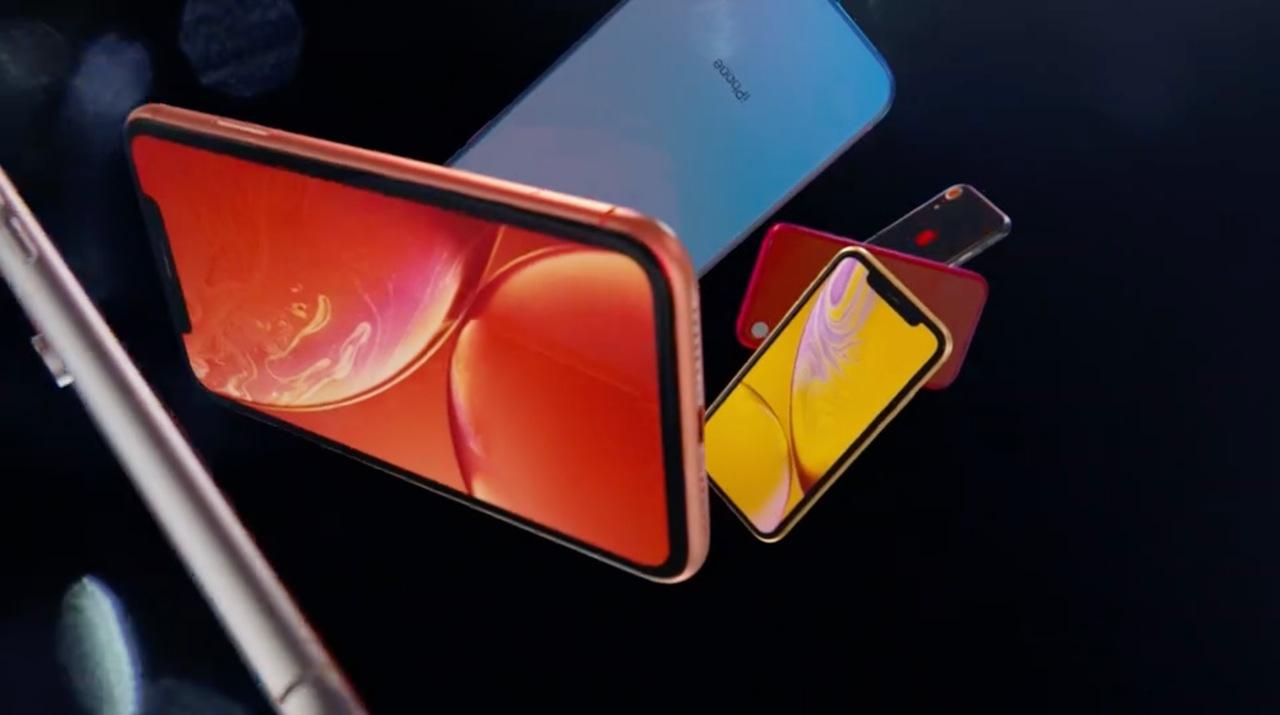 iPhone XSだけじゃないぜ。カラフルなiPhone XRも、出た! #AppleEvent