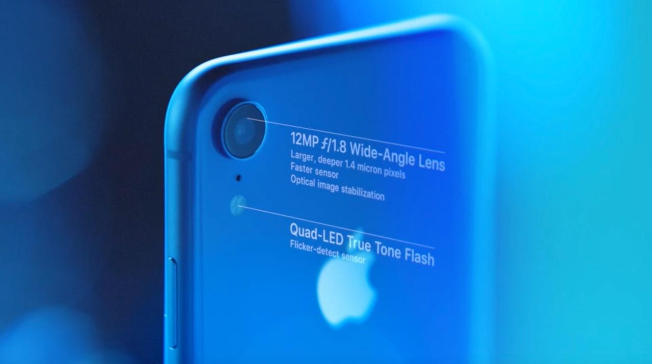 iPhone XRのカメラはiPhone XS系の広角レンズ側と同じ #AppleEvent