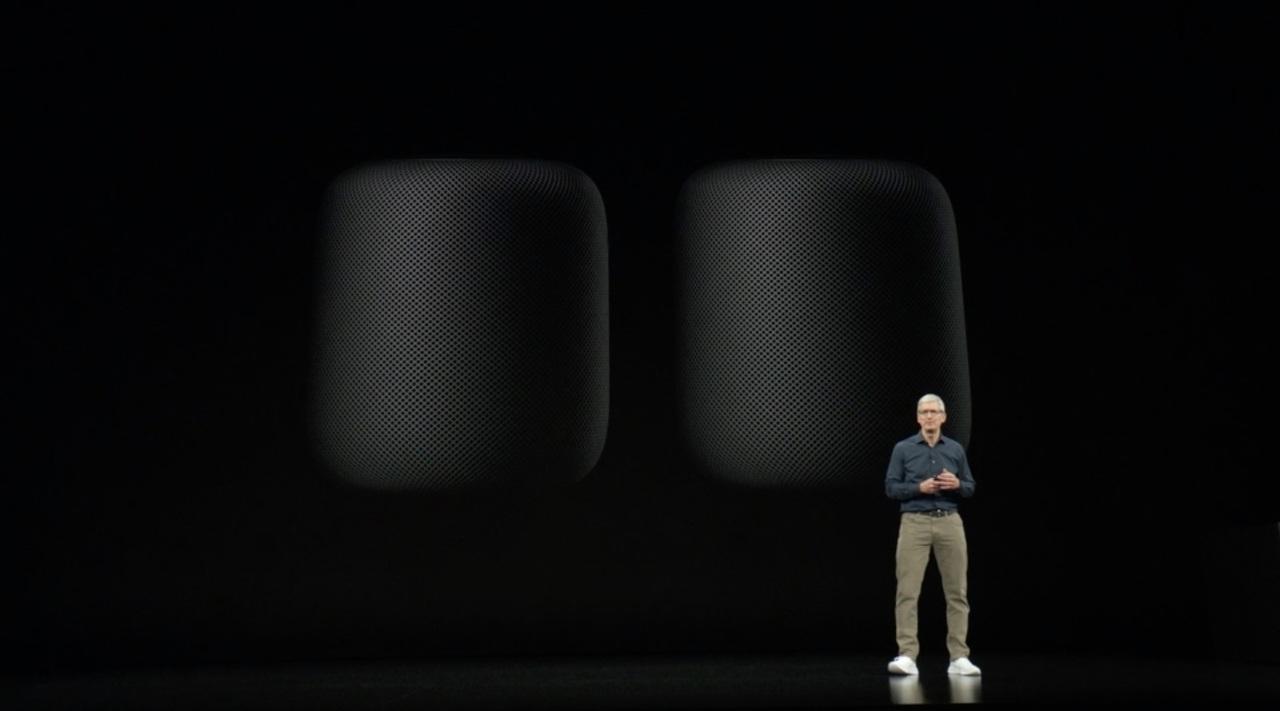 Home Pod、声による歌詞検索が可能になります #AppleEvent