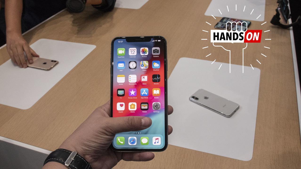 Noteに勝るデカさ:iPhone XS Max ファーストインプレッション&サイズ早見表 #AppleEvent