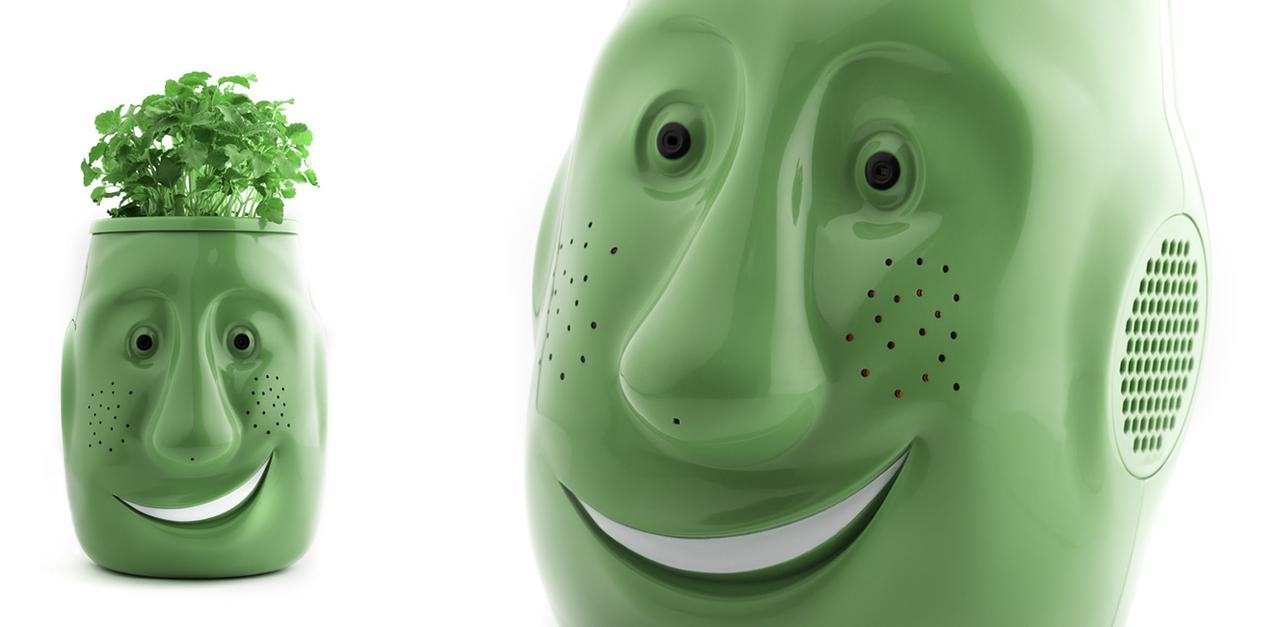 お年寄りに話しかける植木鉢ロボット「Billy-Billy」がホラー以外の何物でもない