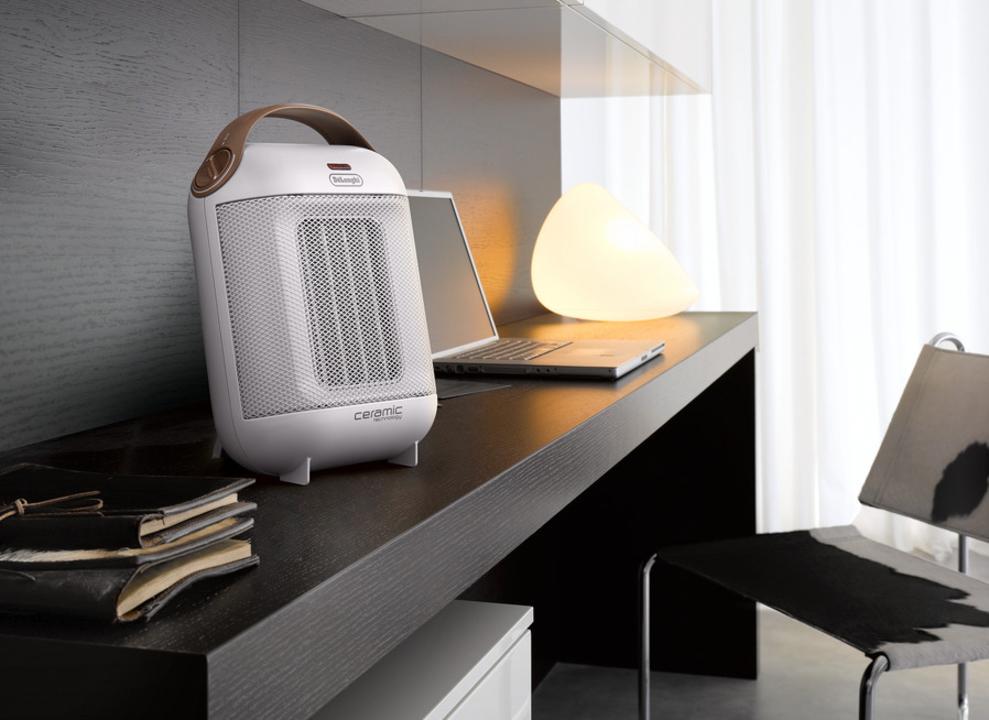 スピーカーっぽい…? デロンギがイタリアンデザインなセラミックファンヒーターを発表