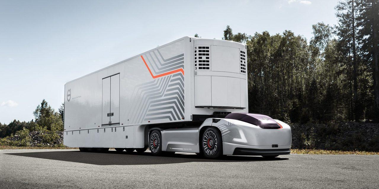 ボルボの無人トラックコンセプト「Vera」、自律運転なので運転席がありません