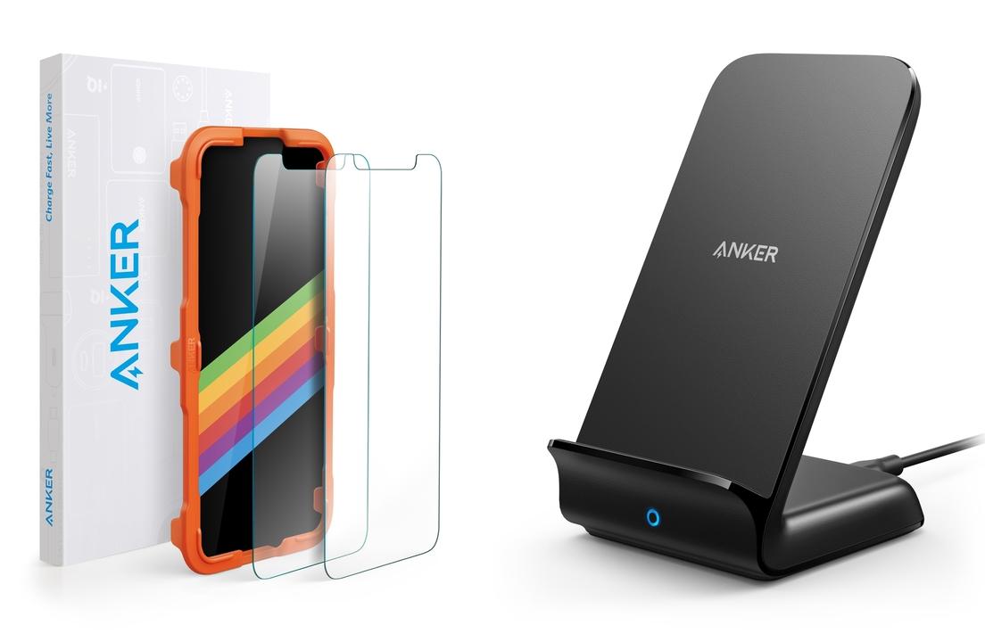 iPhone購入前に備えたい2トップ。ガラスフィルムと急速ワイヤレス充電器がAnkerより登場