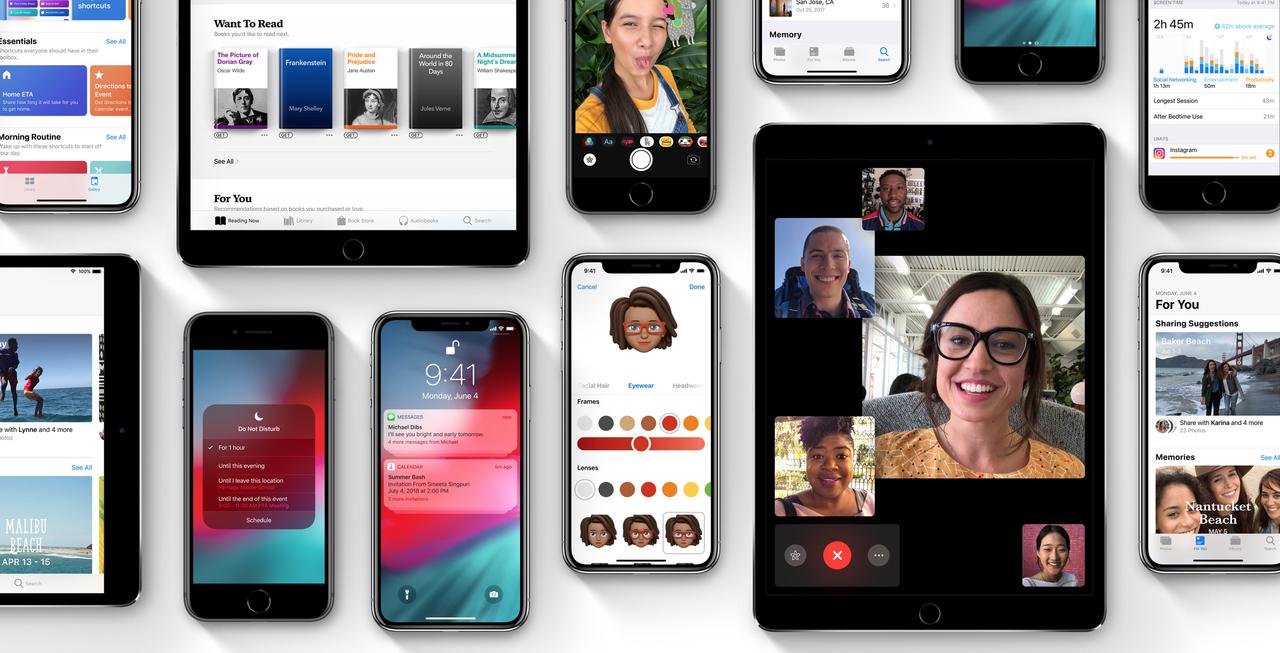 年イチの大型アップデート「iOS 12」が正式リリース! iPhone 5s以降に対応です