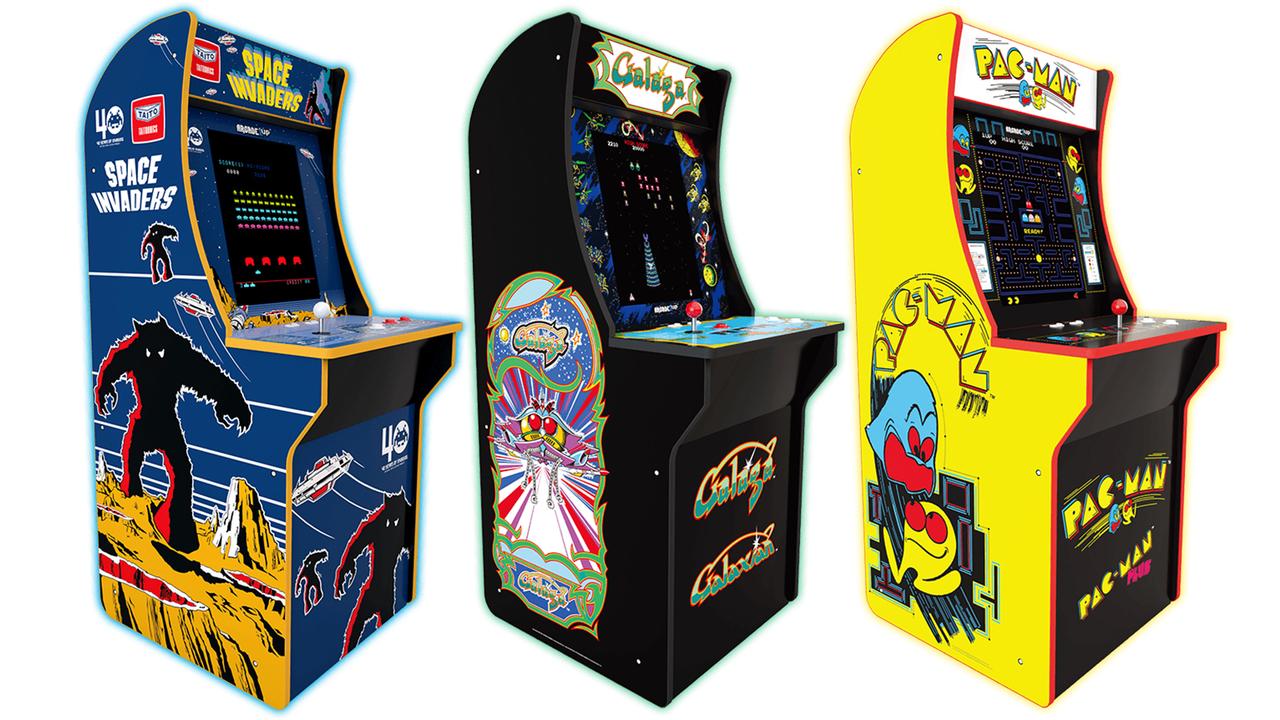え、予算内。3/4サイズ(高さ1m)にした、タイトーのアーケード筐体「Arcade1Up」