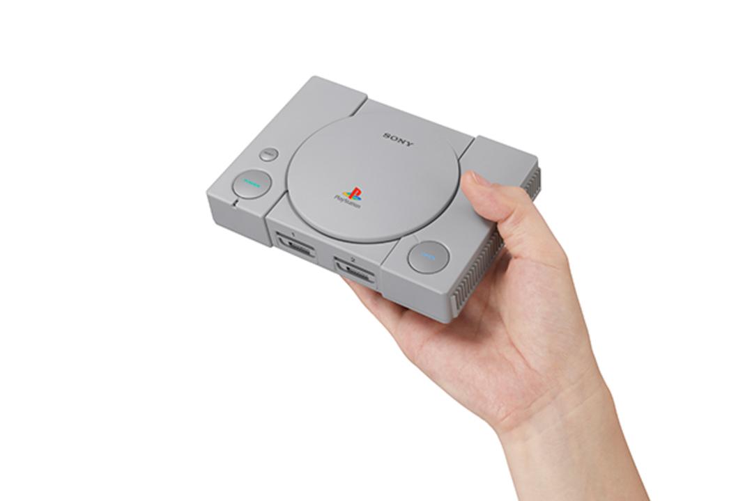 あぁ、懐かしき丸ボタンよ。手のひらサイズの「プレイステーション クラシック」発表