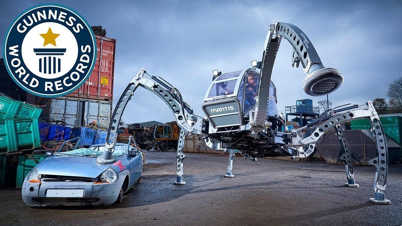 映画『スター・ウォーズ』BB-8を作ったエンジニアによる世界最大ロボット、ギネス記録に