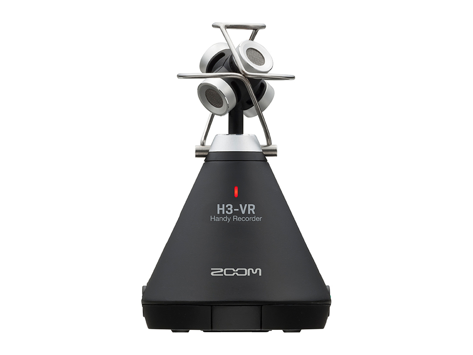 ZOOMからVR用360度の音声を録音できるレコーダーが発売。なんかオブジェ感ない…?