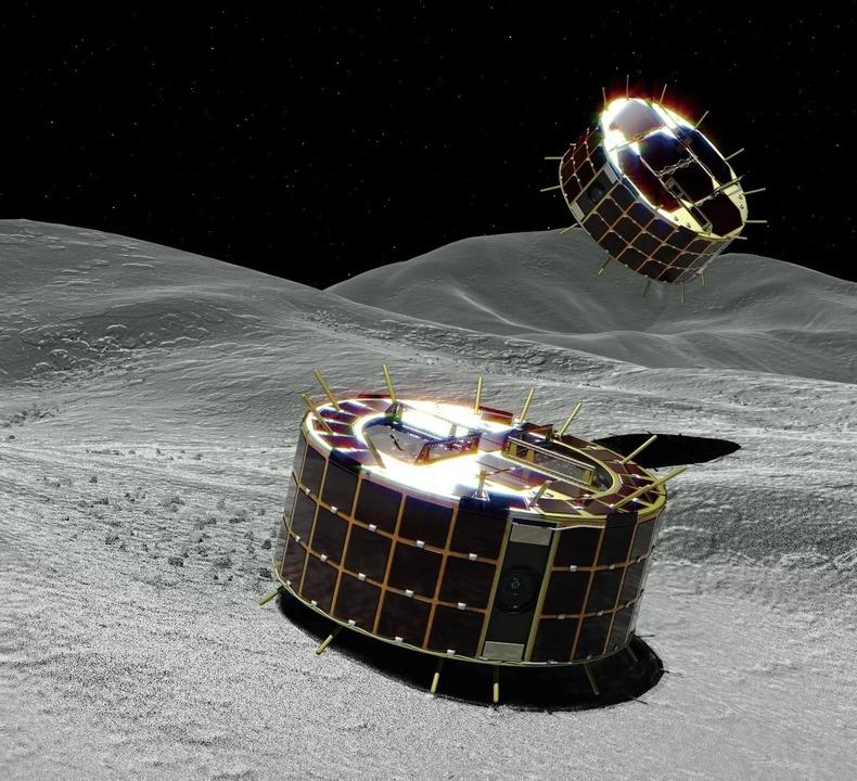 はやぶさ2が小惑星リュウグウに2つのローバーを投下。成功なるか?
