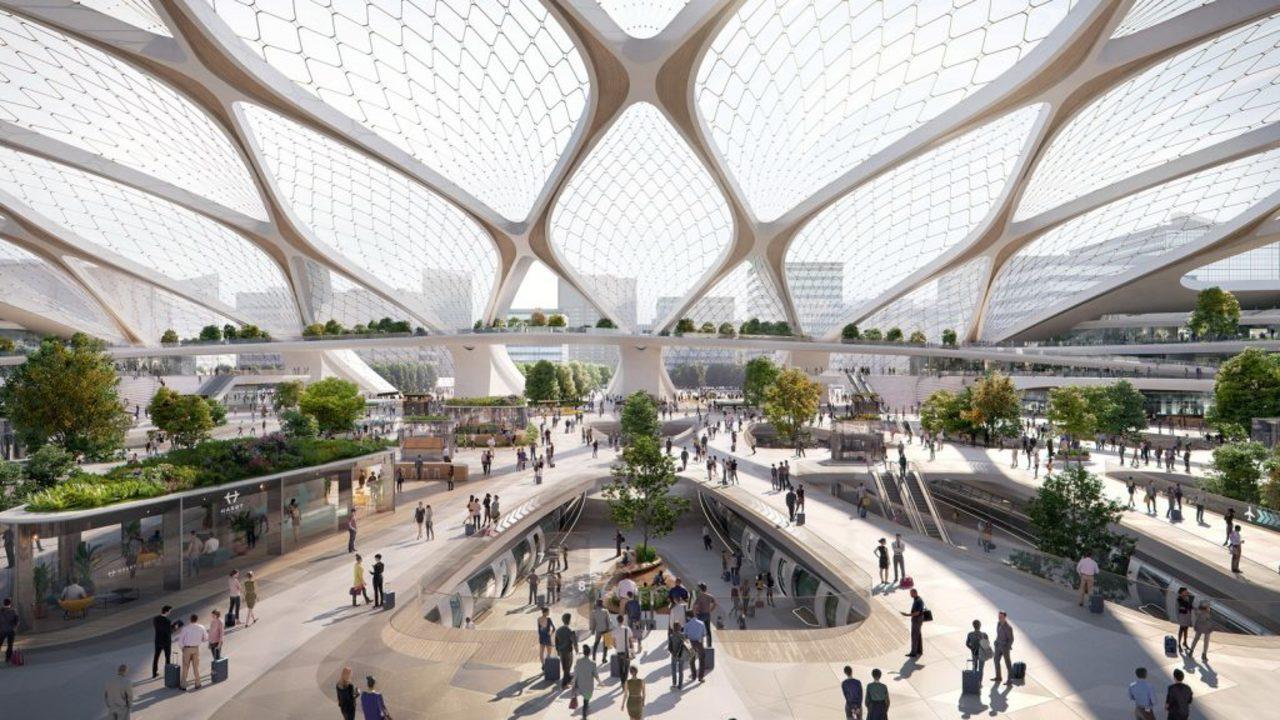 ヨーロッパでのハイパーループ、駅のコンセプトデザインがお披露目