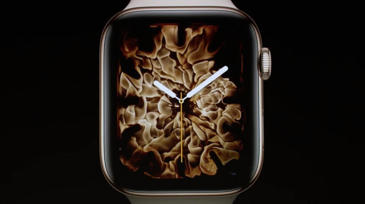 Apple Watch、炎や水のウォッチフェイスは実写だった! メイキング映像が公開