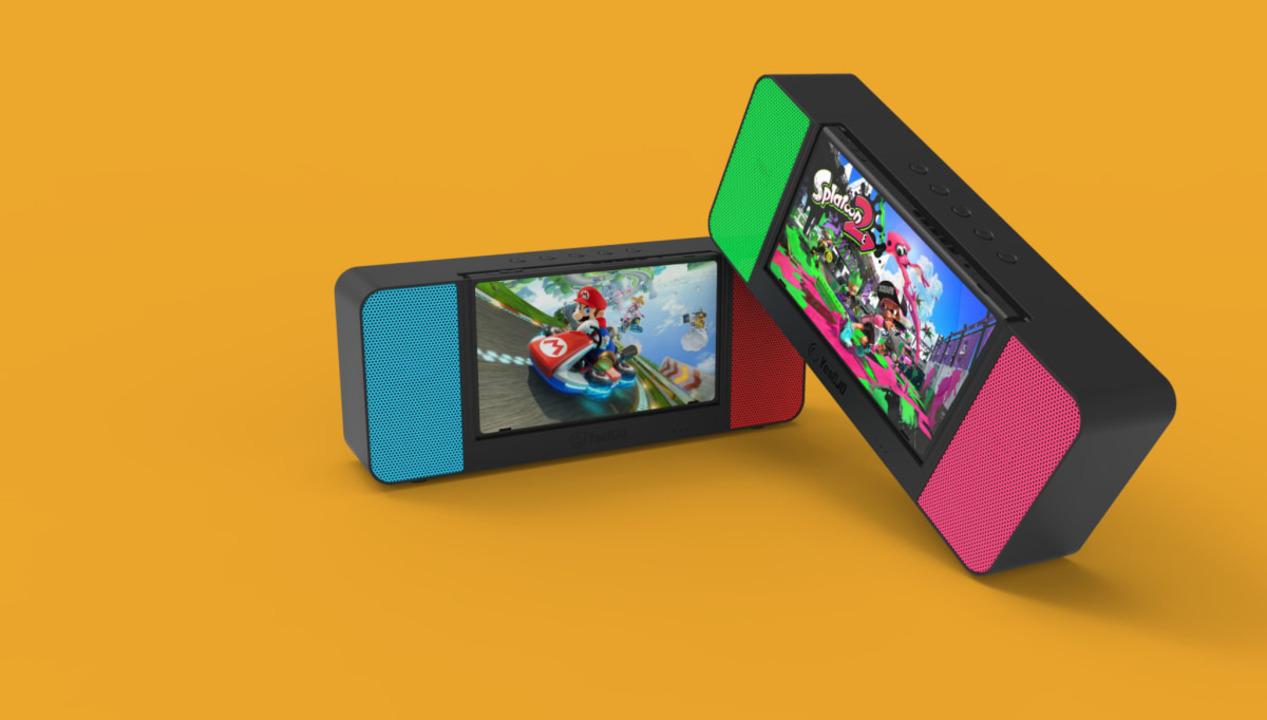 すごい一体感を感じる。Nintendo Switchとドッキングするポータブルスピーカーが登場