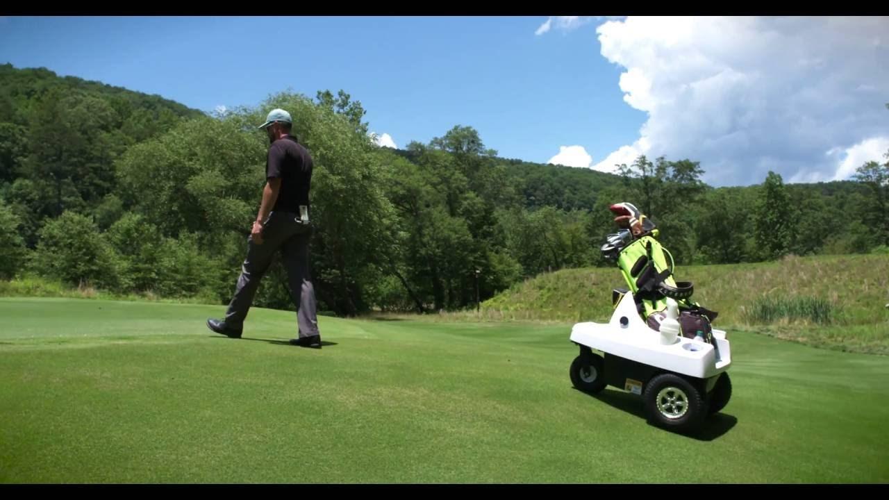 ゴルファーをより健康的に! 自動追尾するロボット・キャディー「ROVER」