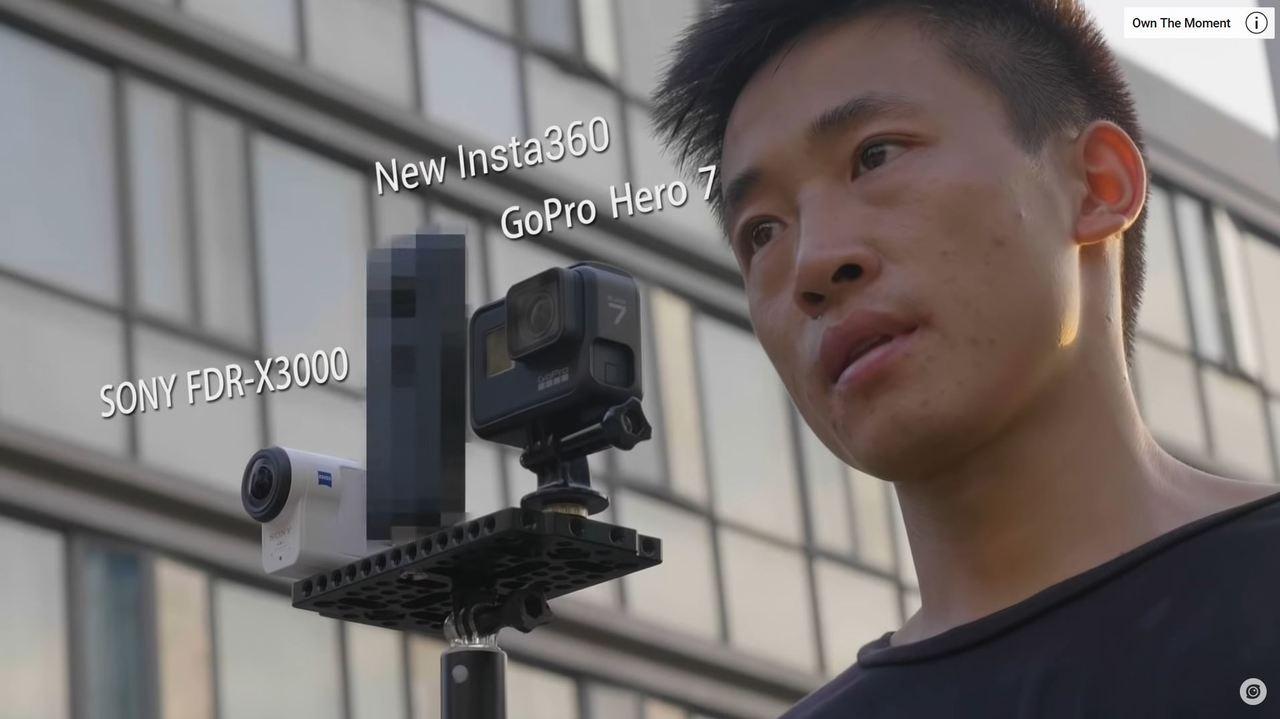 謎のInsta360次世代モデル、GoPro HERO7を「ウチの手ブレ補正が勝ち」と煽る