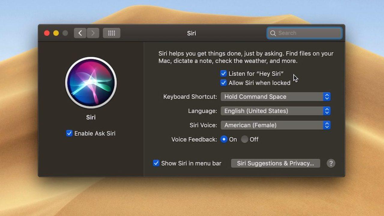 macOS Mojaveと最新Macで「Hey Siri」ができるよ!