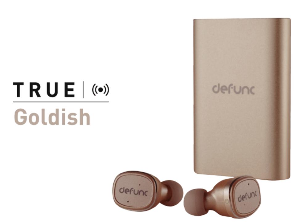 残り3日!北欧の新鋭ブランドDefuncのモバイルバッテリー付き完全ワイヤレスイヤホン「TRUE」