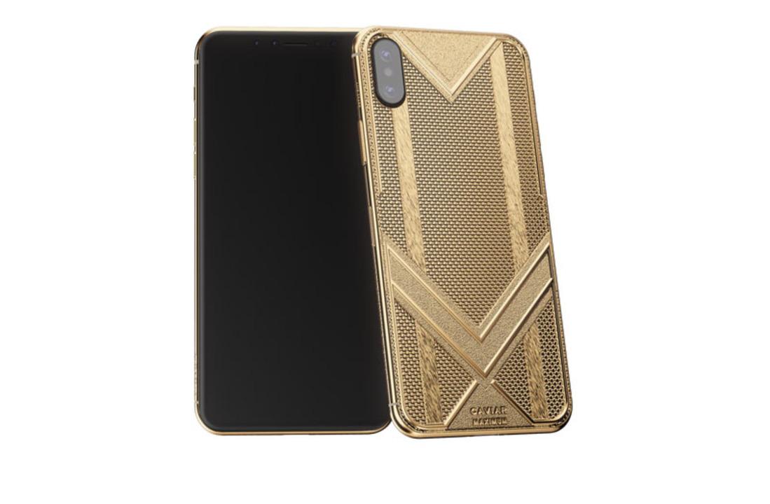 ロシアンパワー。本物のゴールドを使った約176万円のカスタムiPhone XS Max、現る