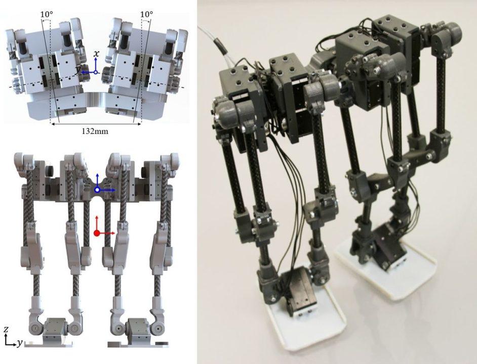 未来のミッキーの足はこれかも。ディズニーが歩くロボットを研究中