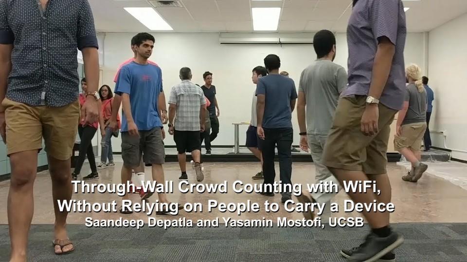悪用禁止。Wi-Fiを使えば別室で動いている人の人数がわかる!?